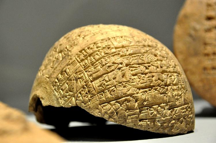cuneiform clay