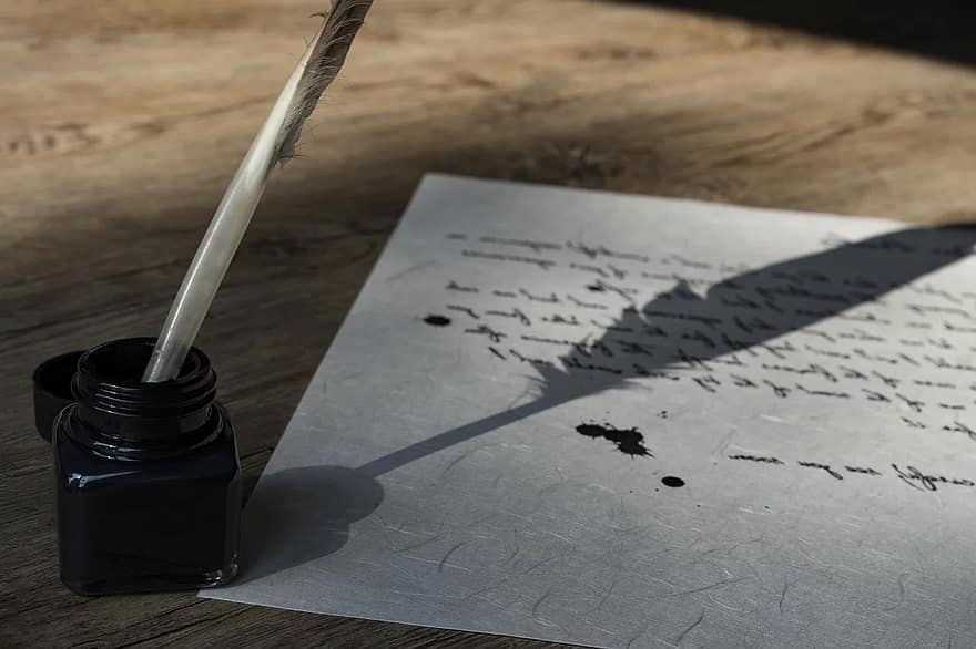 pen and the inkwell